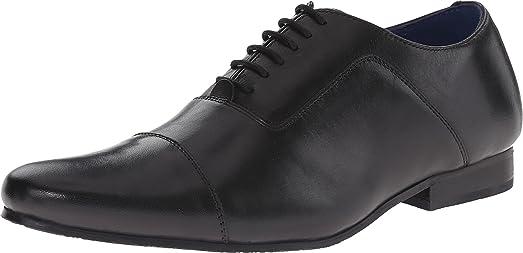 Dune London Men's Renshaw Black Leather Oxford 43 (US Men's ...