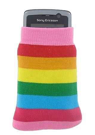 ad2573b3087530 Kit Phone Sock Rainbow: Amazon.co.uk: Electronics