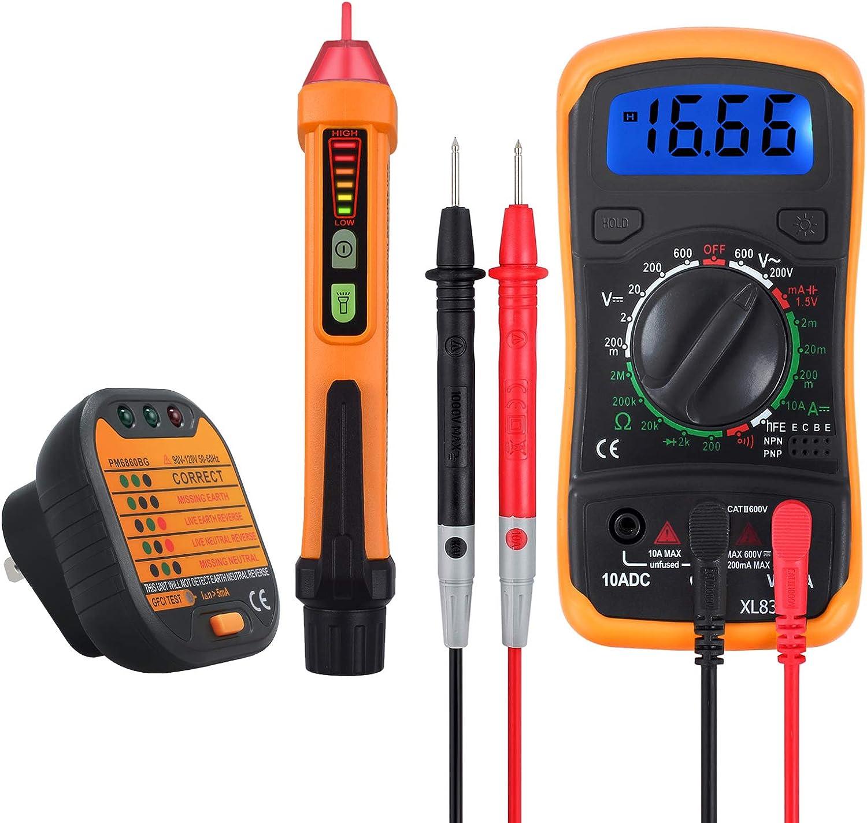 6//12V Voltage Tester Light Test Pen Continuity Electric Dc Bulb 20 AMP Hot Sale