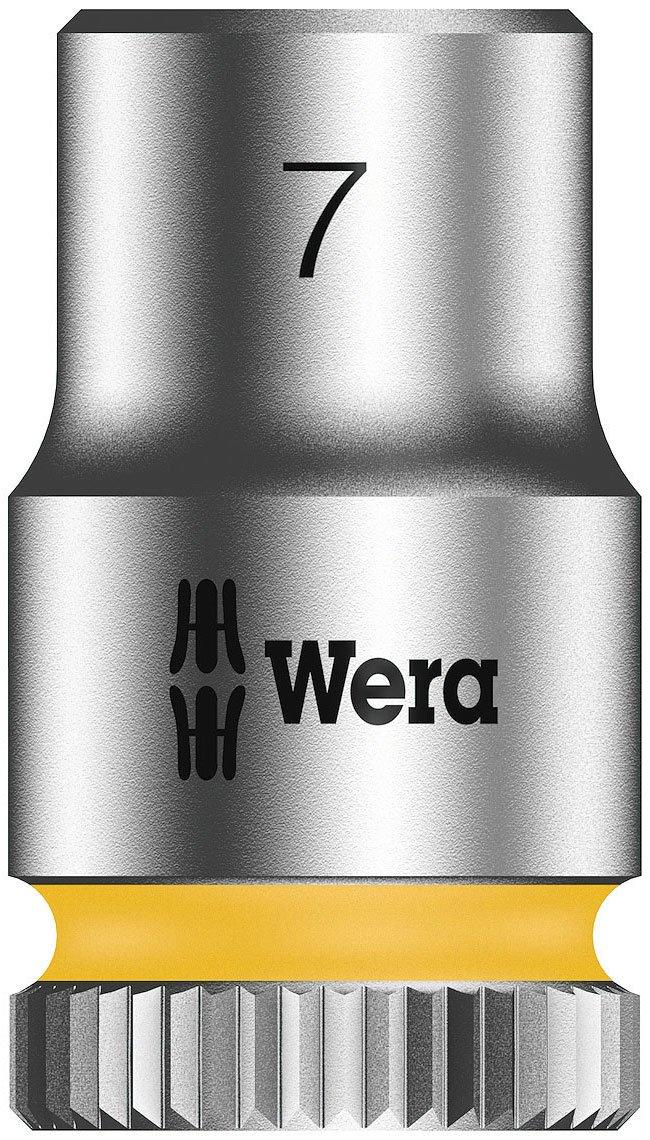 Wera 05003506001 8790 Hma Zyklop 1//4 Socket 7.0 mm