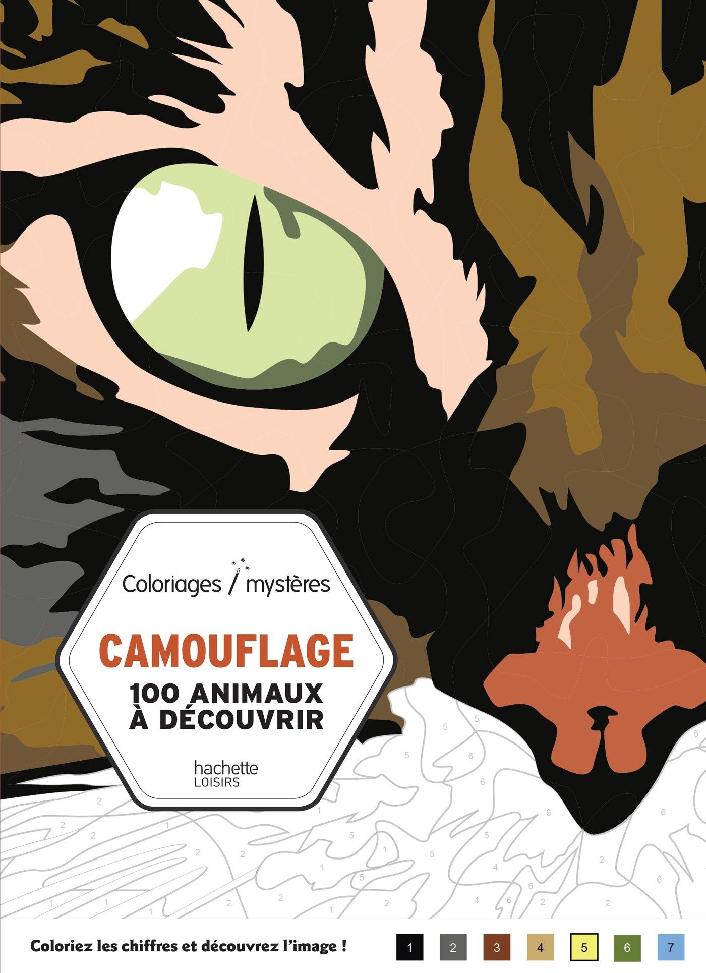 Camouflage 100 animaux  découvrir