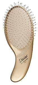 Olivia Garden DivineTM Wet Detangler - Detangling Hair Brush - Ergonomic Paddle with Memory-FlexTM Bristles for Wet Hair