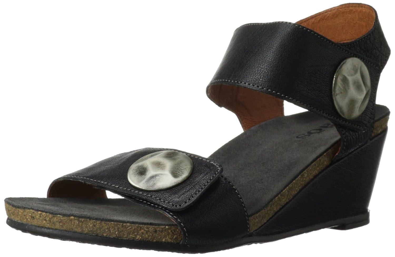 Taos Women's Boardwalk Wedge Sandal B00EQBF9HI 36 EU/5-5.5 M US|Black