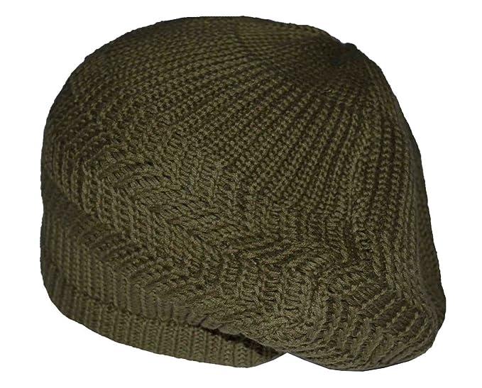 Image Unavailable. Image not available for. Color  MM Men s Cotton Beret Cap  Hat Olive Green a3df710e2d92