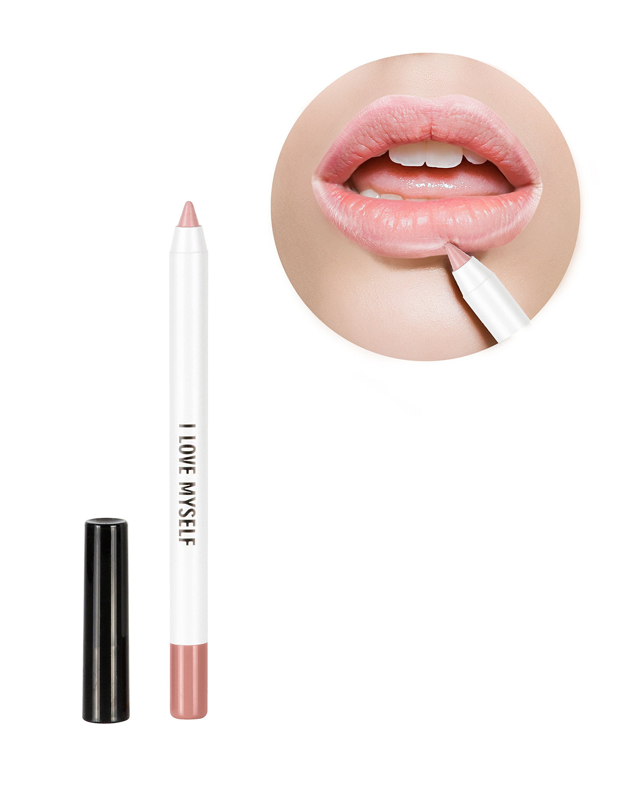 RealHer Defining, Anti-Feathering, No Bleeding, Nude Lip Liner - ''I Love Myself''
