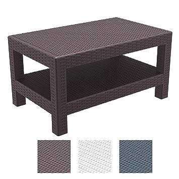 Wetterfester Gartentisch.Clp Lounge Tisch Monaco I Wetterfester Gartentisch Aus Uv