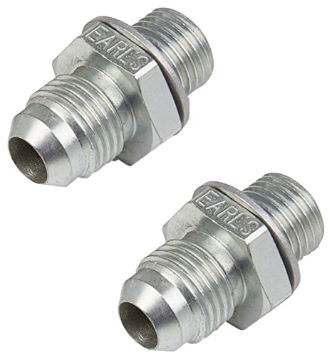 Earl's Performance 940006ERL Adapter Bagged Packaging -6AN Male TO 1/4-18  NPSM Trans  Cooler Adap Aluminum Adapter