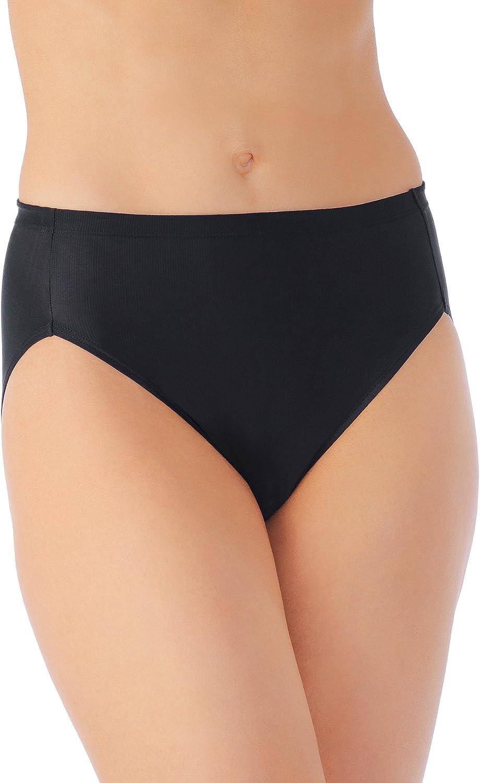 Vanity Fair Women's Cooling Touch Hi Cut Panty
