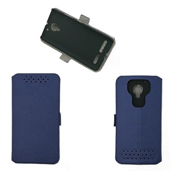 huge selection of 2e1e6 d6671 Amazon.com: Case for Lenovo C2 K10a40 / Vibe C2 Case Cover Blue ...