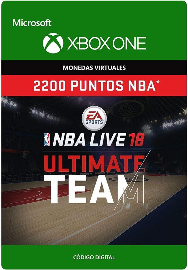 NBA LIVE 19: NBA UT 2200 Points Pack - Xbox One - Código de descarga: Amazon.es: Videojuegos