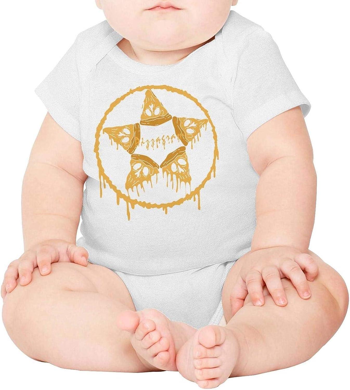 Baby Onesies Pizzagram 100/% Cotton Bodysuits Super Power Short Sleeve Bodysuit