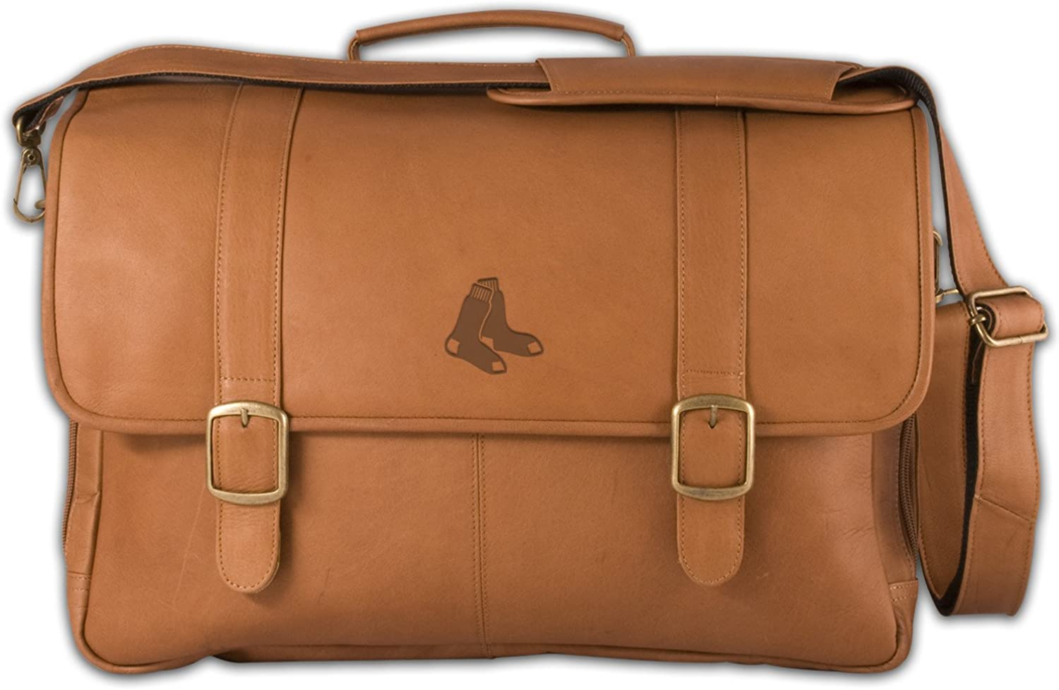 Pangea Brands MLB Leather Laptop Briefcase Rare Max 73% OFF Porthole
