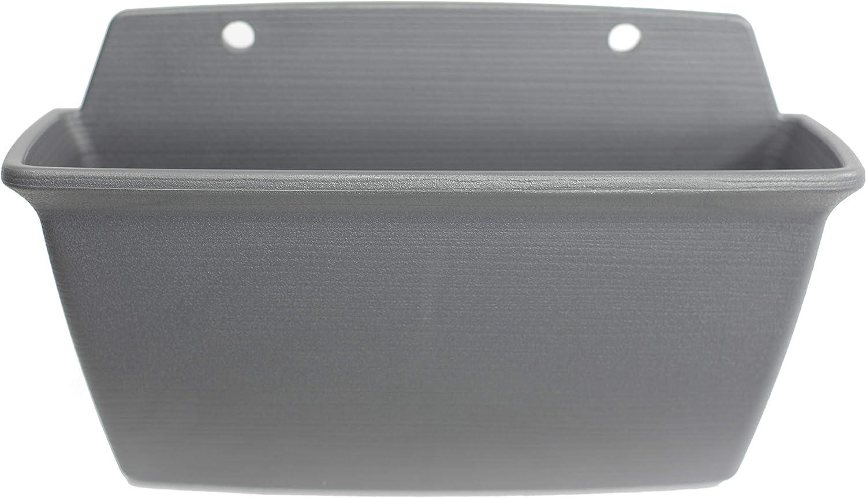 blanco Air Planter pl/ástico 45 x 27,2 x 26 cm Iris Ohyama mediano 450 Maceta elevada