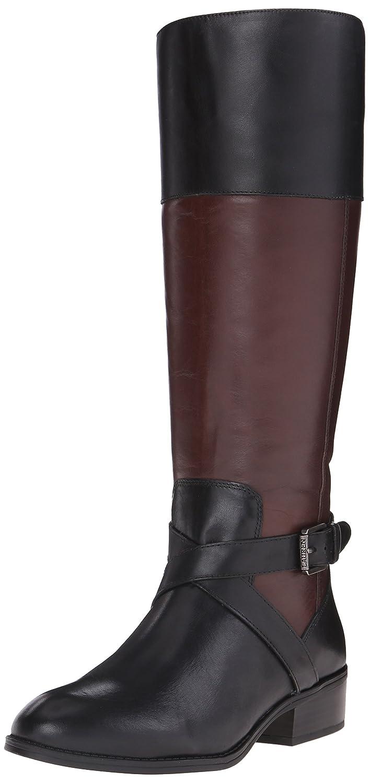 Lauren Ralph Lauren Women's Maryann Riding Boot B011KHRW6Q 11 B(M) US|Black/Dark Brown