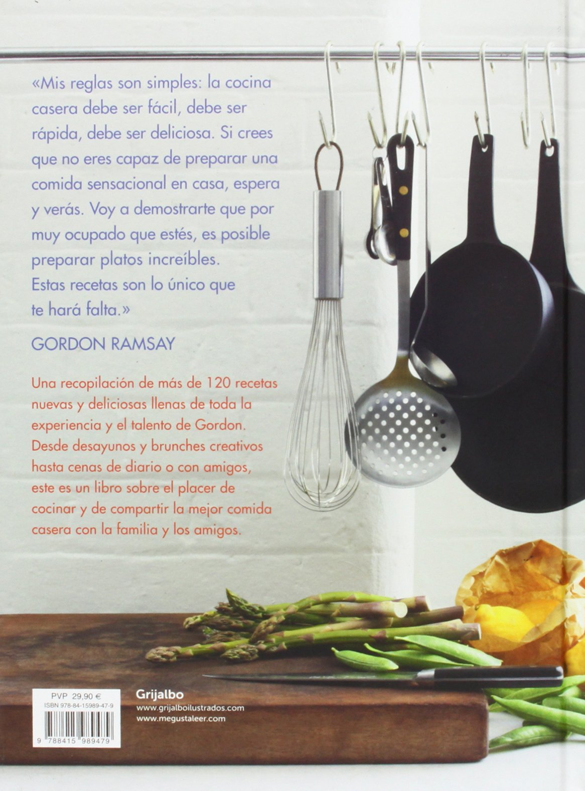 Mis Mejores Recetas Spanish Edition Gordon Ramsay  ~ Menu Para Cena Con Amigos En Casa