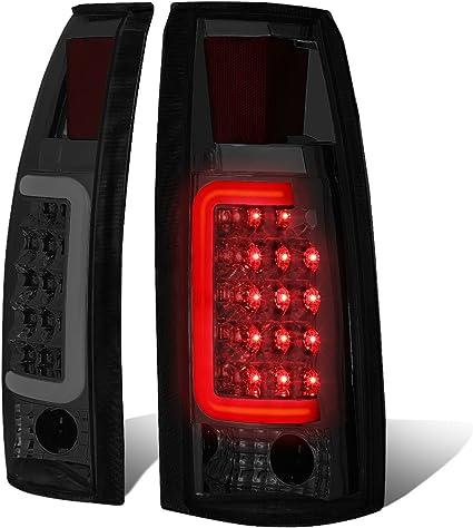 LED SMOKE BRAKE LIGHT 88-98 CHEVY SILVERADO GMC C//K TRUCK SMOKE TAIL LIGHTS