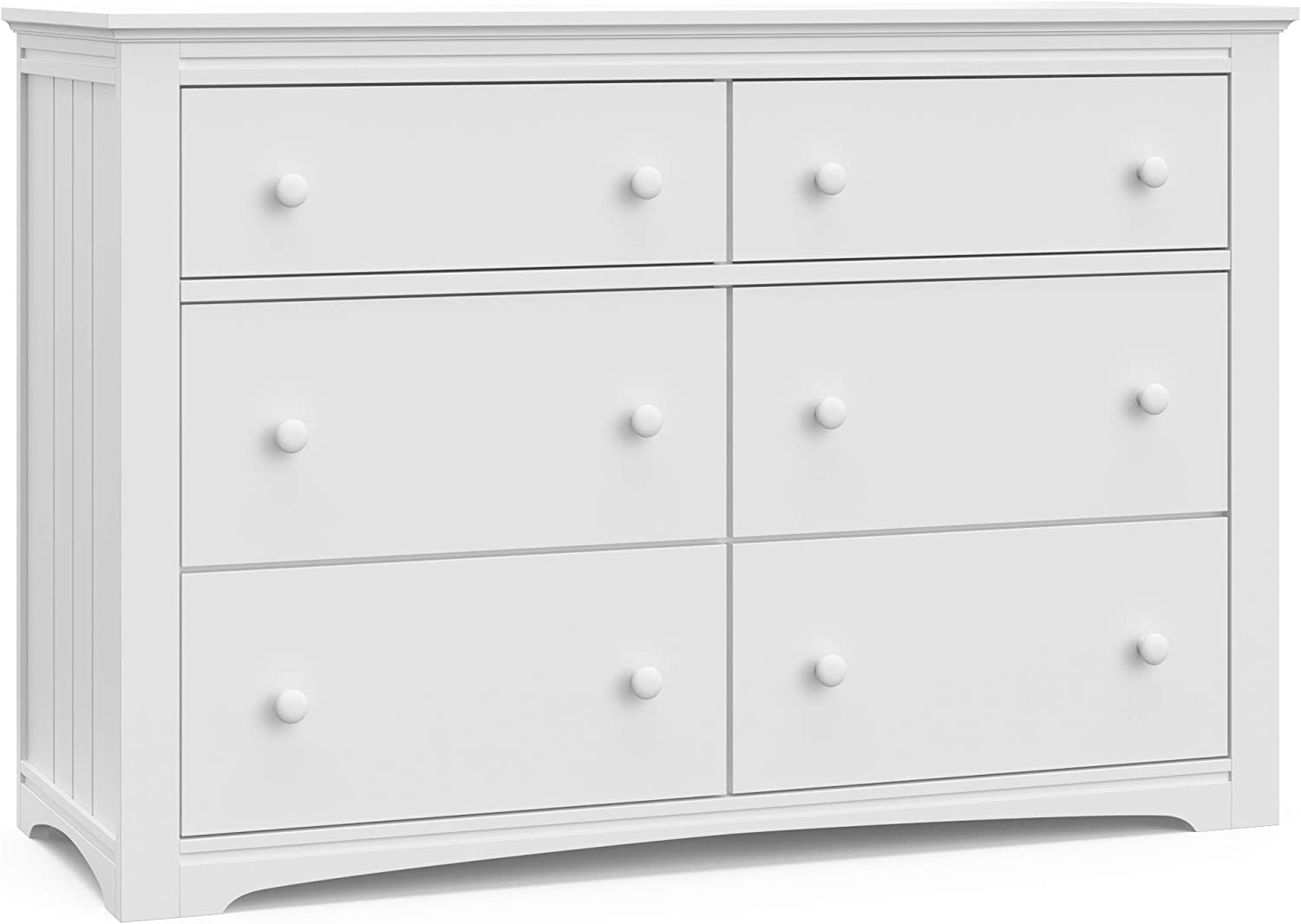 Universal Design Graco Hadley 4 Drawer Dresser Mocha - Slate Gray Coordinates with Any Nursery Easy New Assembly Process Durable Steel Hardware and Euro-Glide Drawers with Safety Stops