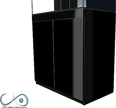 CAD luces 60 L true Cube Versa Series Acuario (Total 78 litros) Blanco Soporte: Amazon.es: Productos para mascotas