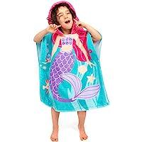 Florica Algodón Niños Niñas Encantador Ponchos Encapuchados baño