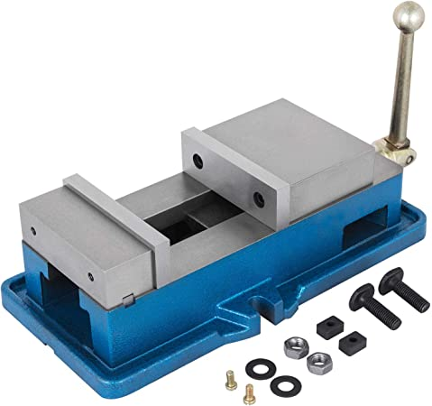 """3/"""" Non-Swivel Milling Lock Vise Bench Clamp Precision Assembly Removal GREAT"""