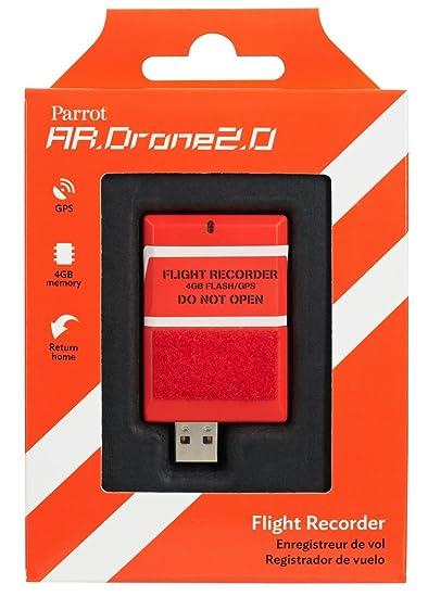 Amazon com: Parrot AR DRONE 2 0 Flight Recorder: GPS, 4GB, return to