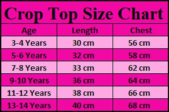 FAST TREND CLOTHING Tween Kids Girls Neon Fluorescent Plain Short Sleeves Crop Tops Dance Wear Gymnastic Fancy Dress Age 5-13 Years by Fast-Trend