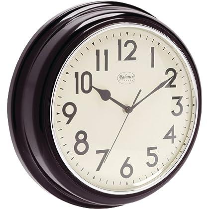 Analoge Retro Vintage Landhaus 32cm Wanduhr - Quarz - Designer Uhr ...