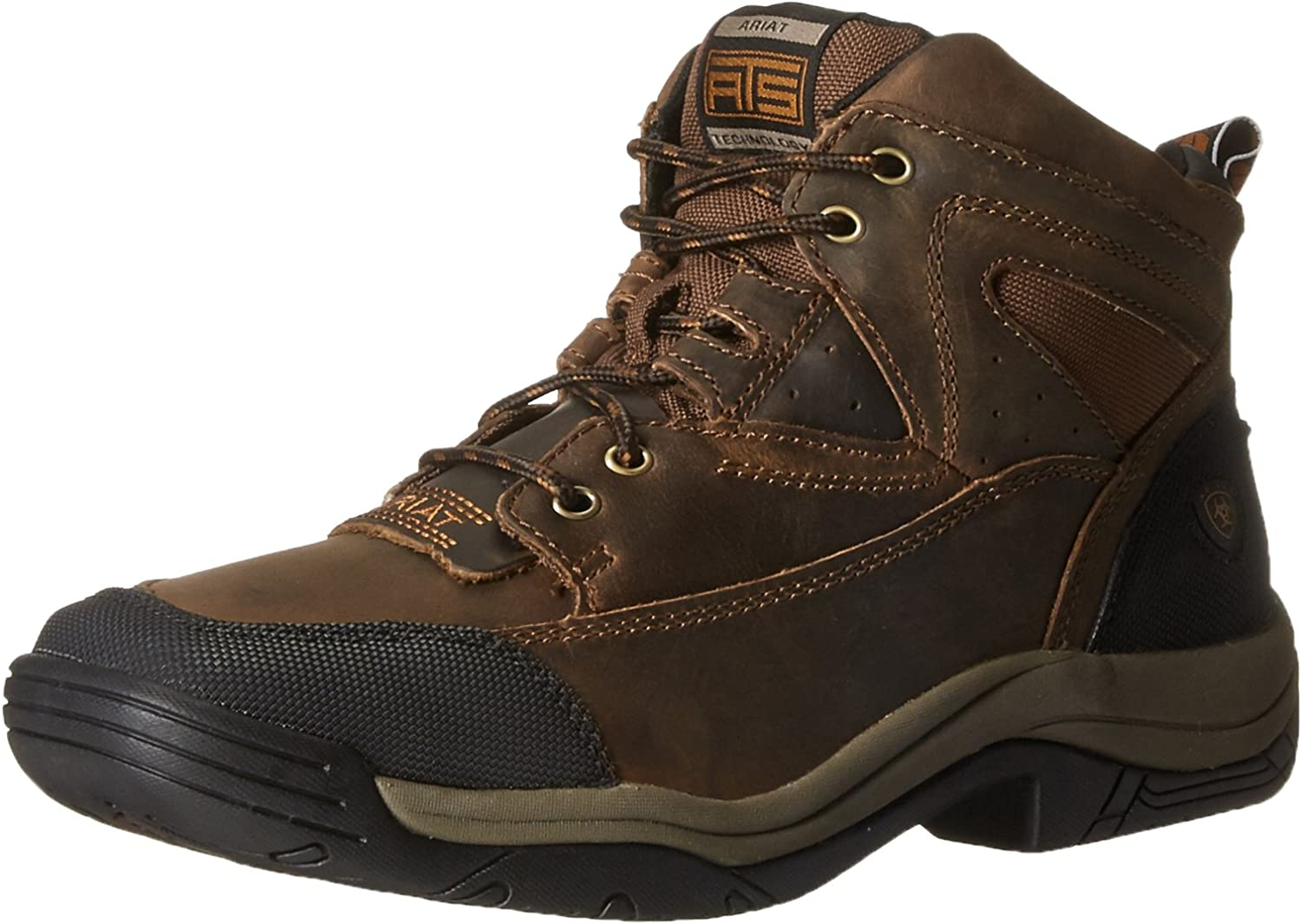 Amazon.com | Ariat Men's Terrain Wide Square Toe Hiking Boot | Hiking Boots