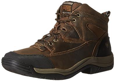 Amazon.com | Ariat Men's Terrain Wide Square Toe Hiking Boot ...