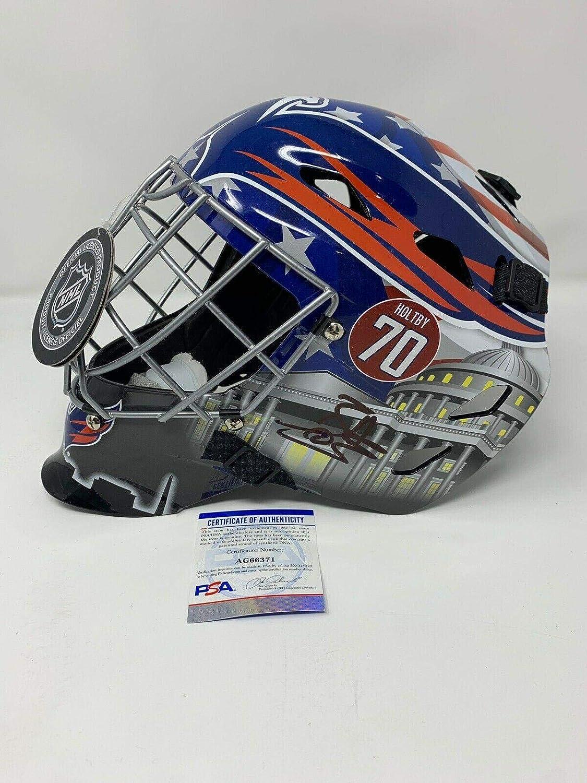 Amazon Com Braden Holtby Washington Capitals Autographed Signed Goalie Mask W Psa Coa 70 Autographed Nhl Helmets And Masks Sports Collectibles