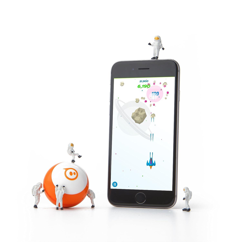 portata Bluetooth fino a 10 metri luci LED incluse Verde compatibile iOS e Android Sphero Mini Sfera Robot comandabile via App