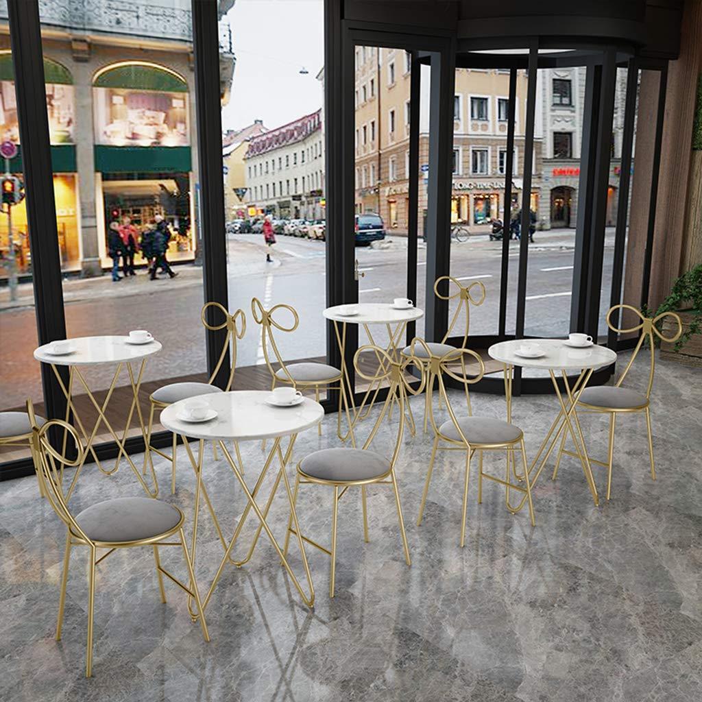 XIAOZHUZHU Klädbordsstol, restaurang matstol ryggstöd stol flicka sovrum sminkstol café lounge stol hushåll vardagsrum dekorativa möbler, grå Mörkblått