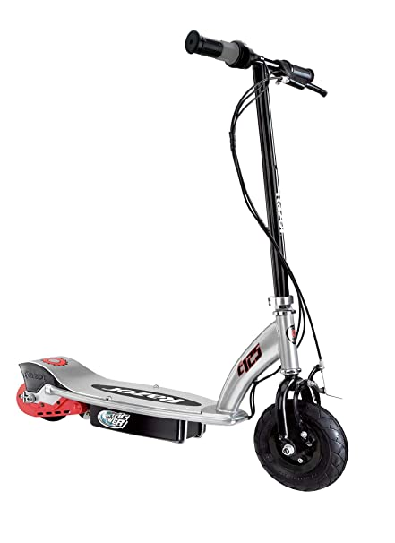 Amazon Com Razor E125 Electric Scooter Black Electric Sports
