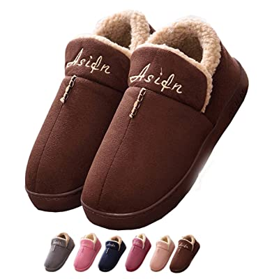 Men Slippers Memory Foam Indoor House Outdoor Women Clog Sole Plush Fur | Slippers [3Bkhe0306766]