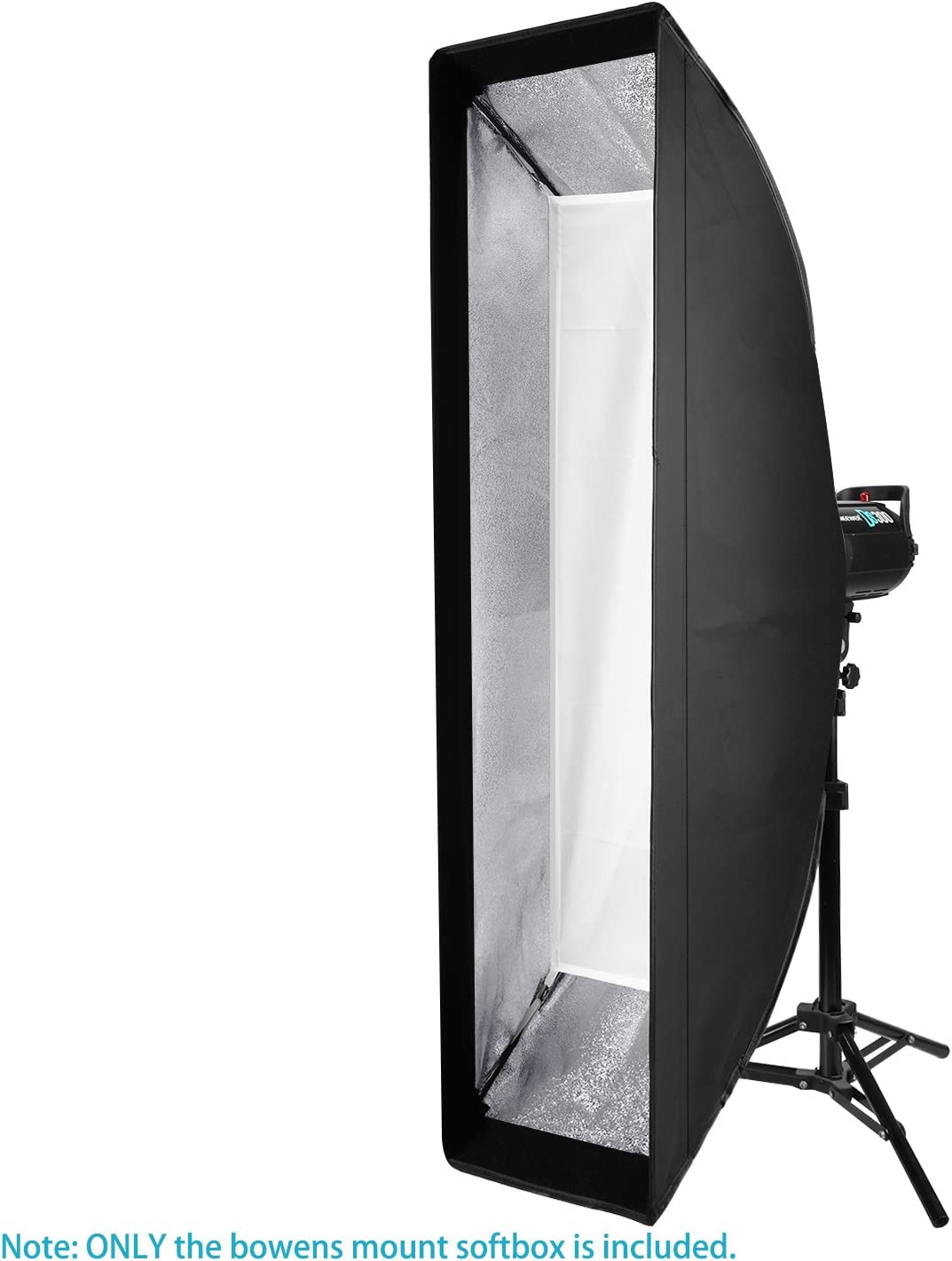 Neewer 14 x 63 inches//35 x 160 centimeters Rectangular Softbox with Bowens Mount Speedring,Soft Diffuser and Bag for Speedlite Studio Flash Monolight,Portrait and Product Photography