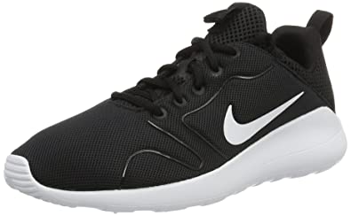 Nike Men's Kaishi 2.0 Black White Running Shoe - 8.5 D(M) US