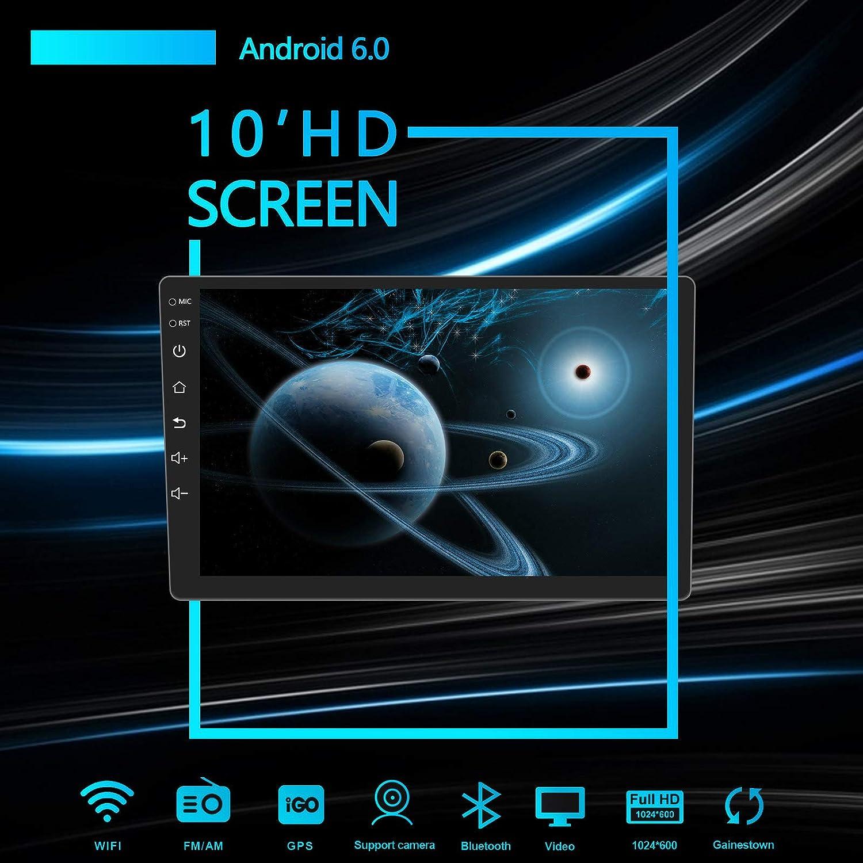 16G NAND Memory Flash CKDA10 Lexxson 10.1inch Android 6.0 Car Radio 1024x600 GPS Navigation Bluetooth USB Player 1G DDR3