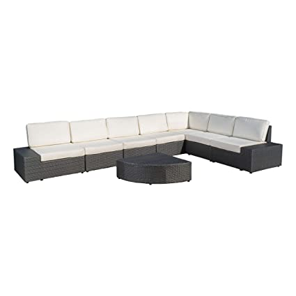 Amazon Com Reddington Outdoor Wicker Furniture Set Sectional And