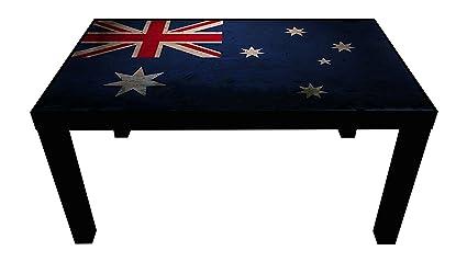 Amazon Com Probest Australia Flag Coffee Table Flag Coffee Table