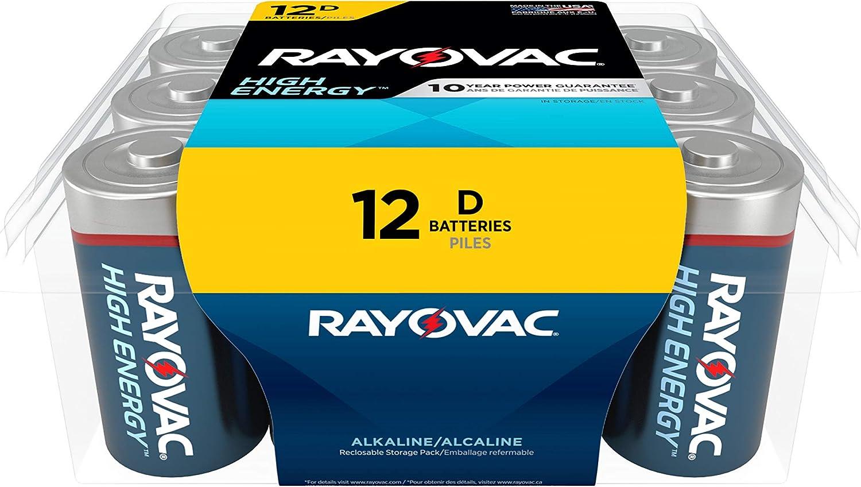 Rayovac碱性D电池
