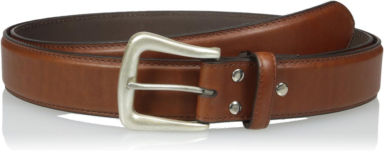 Nocona Mens Brown Leather Belt