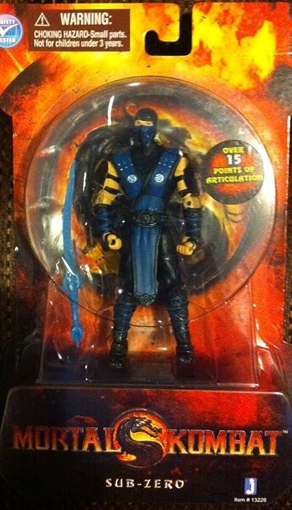 Amazon.com: Mortal Kombat MK9 Classic Ninja Sub-Zero – 4 ...