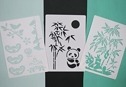 Buy Asian Hobby Crafts Craft Stencils For Sketching Scrapbooking