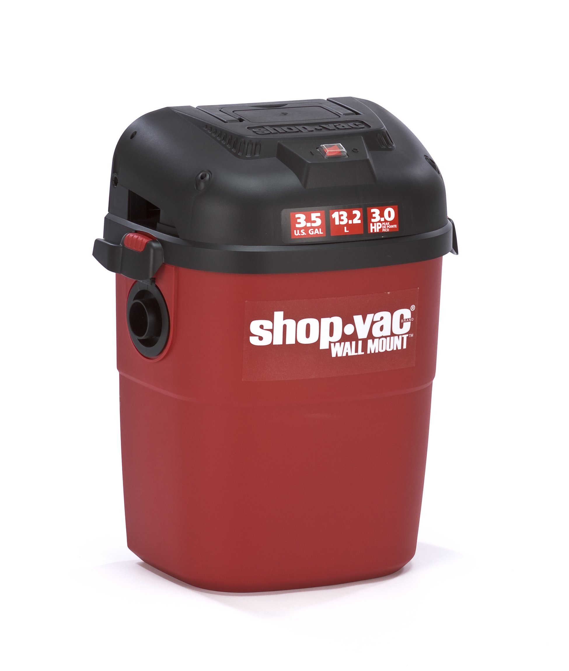 Shop-Vac 3940100 3.5-Gallon 3.0-Peak HP Wall Mount Wet/Dry Vacuum by Shop-Vac (Image #2)