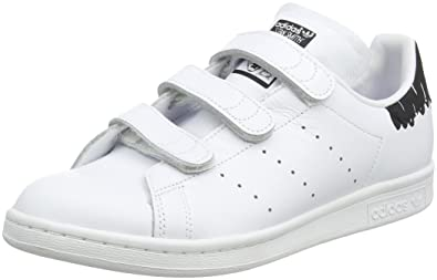 adidas Women's Stan Smith CF W, White/Black, ...