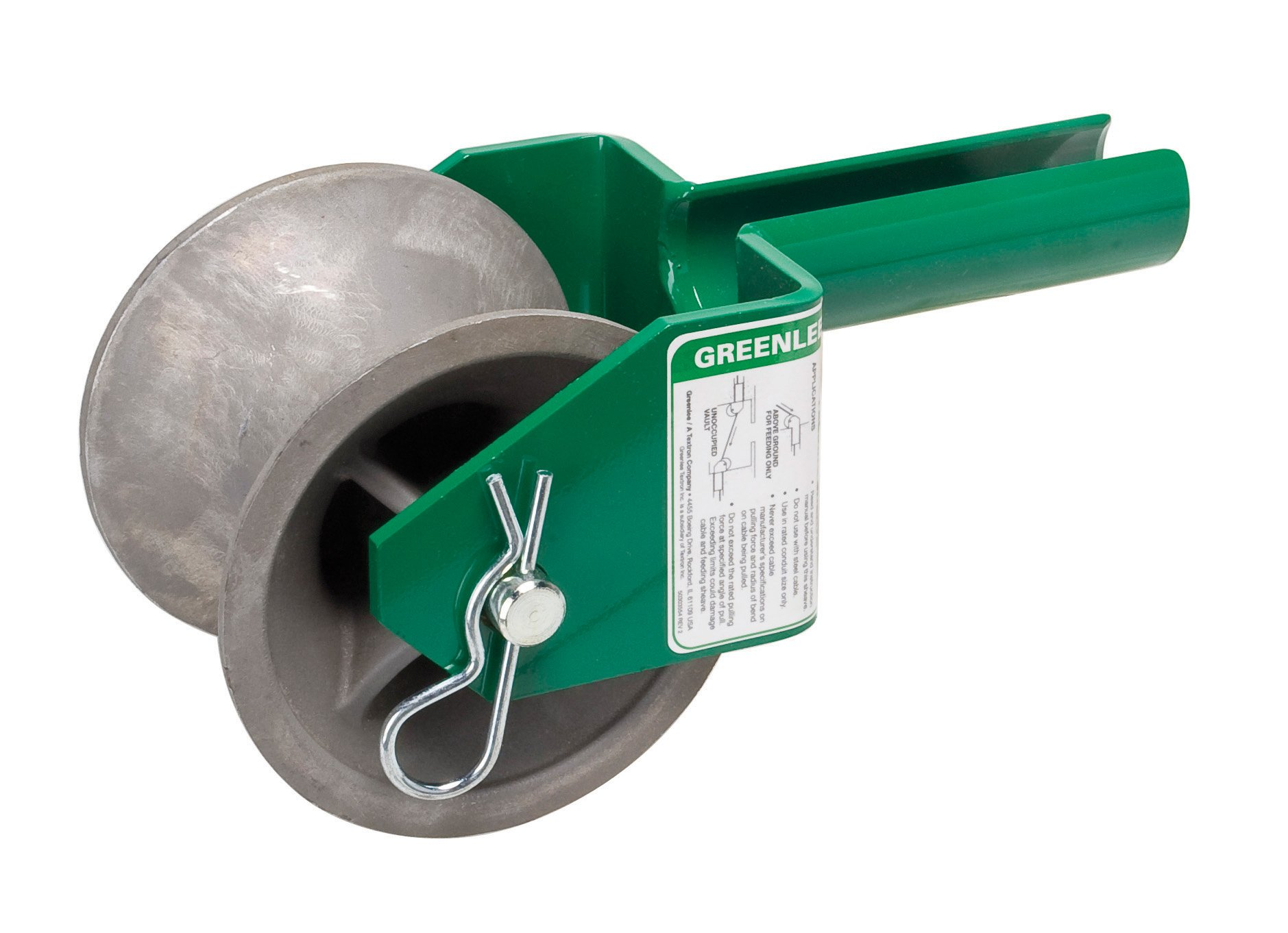 Greenlee 441-2 Feeding Sheave for 2-Inch Conduit