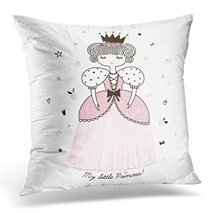 Amazon Sdamas Decorative Pillow Cover Pink Girl Cute Little Unique Little Girl Decorative Pillows