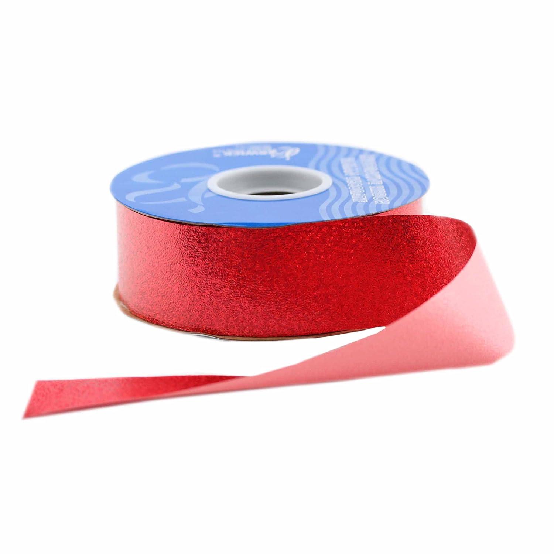 Berwick Sparkalene Craft Ribbon, 1-1/2-Inch by 50-Yard Spool, Red by Berwick   B00DR8X68K