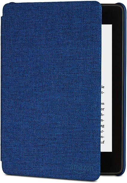 Amazon Kindle Paperwhite Hülle Aus Wassergeeignetem Stoff 10 Generation 2018 Blau Amazon Devices