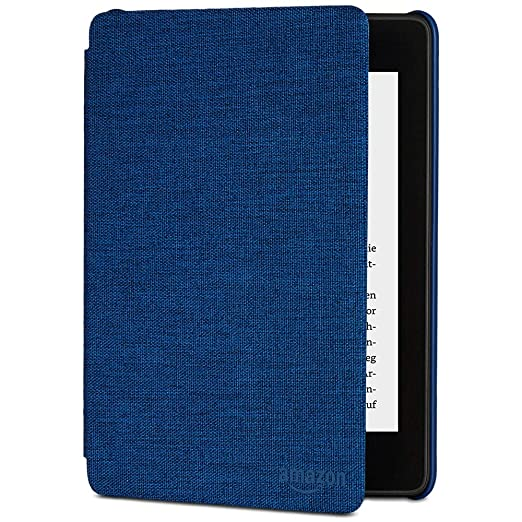 Amazon Kindle Paperwhite-Hülle aus wassergeeignetem Stoff (10. Generation – 2018), Blau